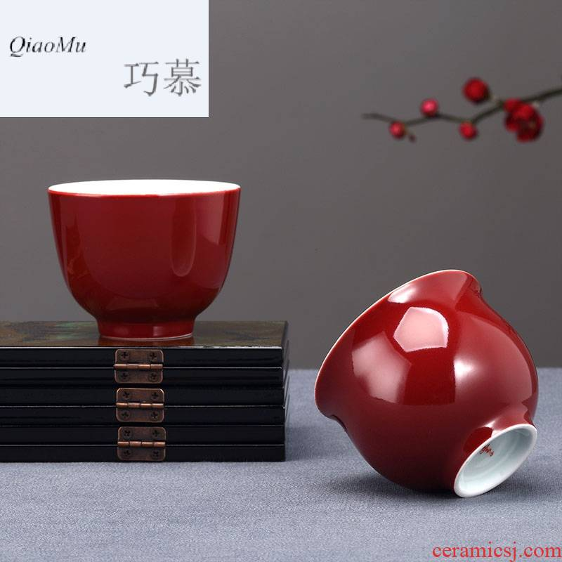 Restoring ancient ways opportunely MuFengZi sample tea cup kung fu tea set ceramic tea cups only a single master cup of office