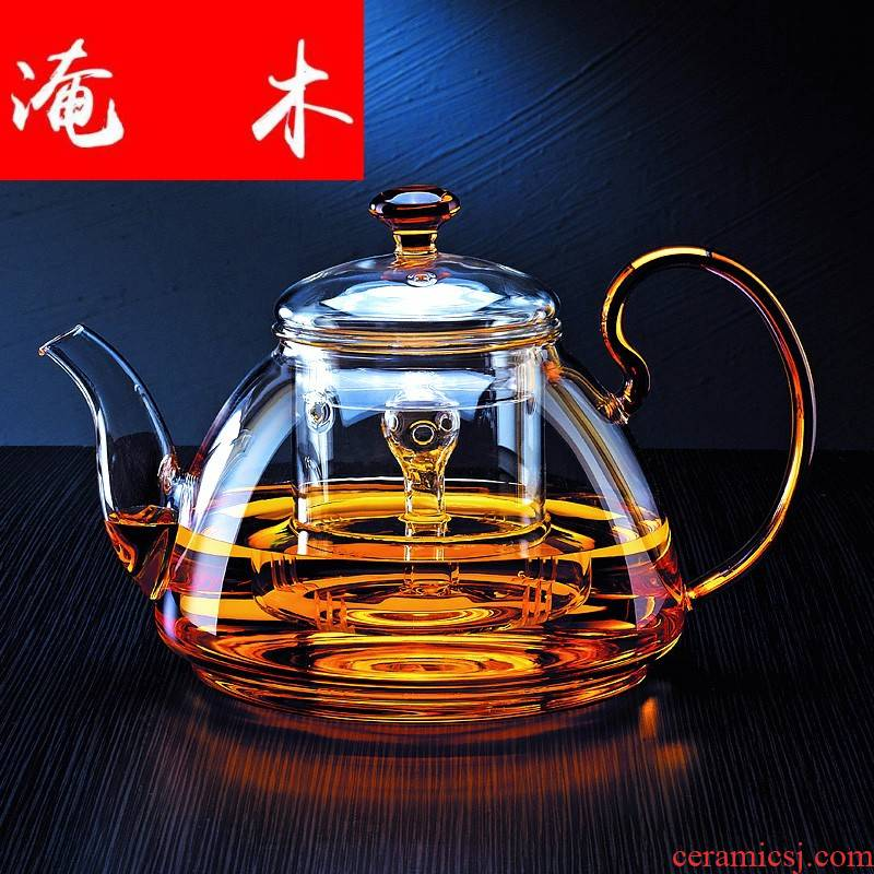 Submerged wood refractory glass teapot large kettle electric TaoLu cooking pot large capacity of the teapot