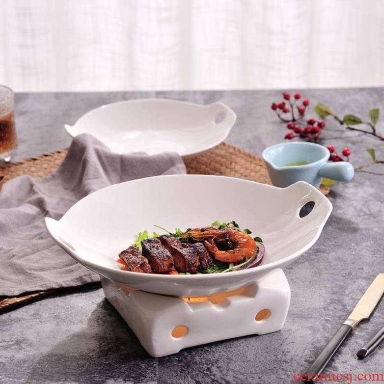 Ceramic furnace and cooled based idea based home desktop braised cooking pot steamed stuffed bun 焟 based portable indoor small hot pot