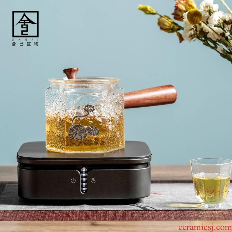 "The Self - ""appropriate content electric TaoLu tea stove the boiling tea tea tea, the electric ceramic POTS boil tea stove'm heating a teapot"