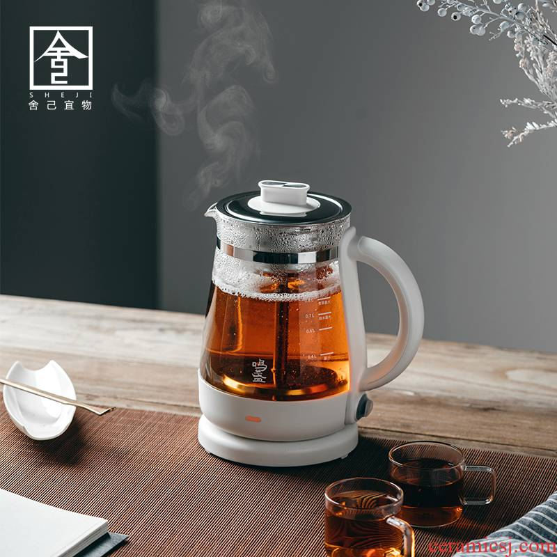 "The Self - ""is boiled tea glass vessel boiling tea stove spray electric household TaoLu steam automatic electric teapot tea stove"