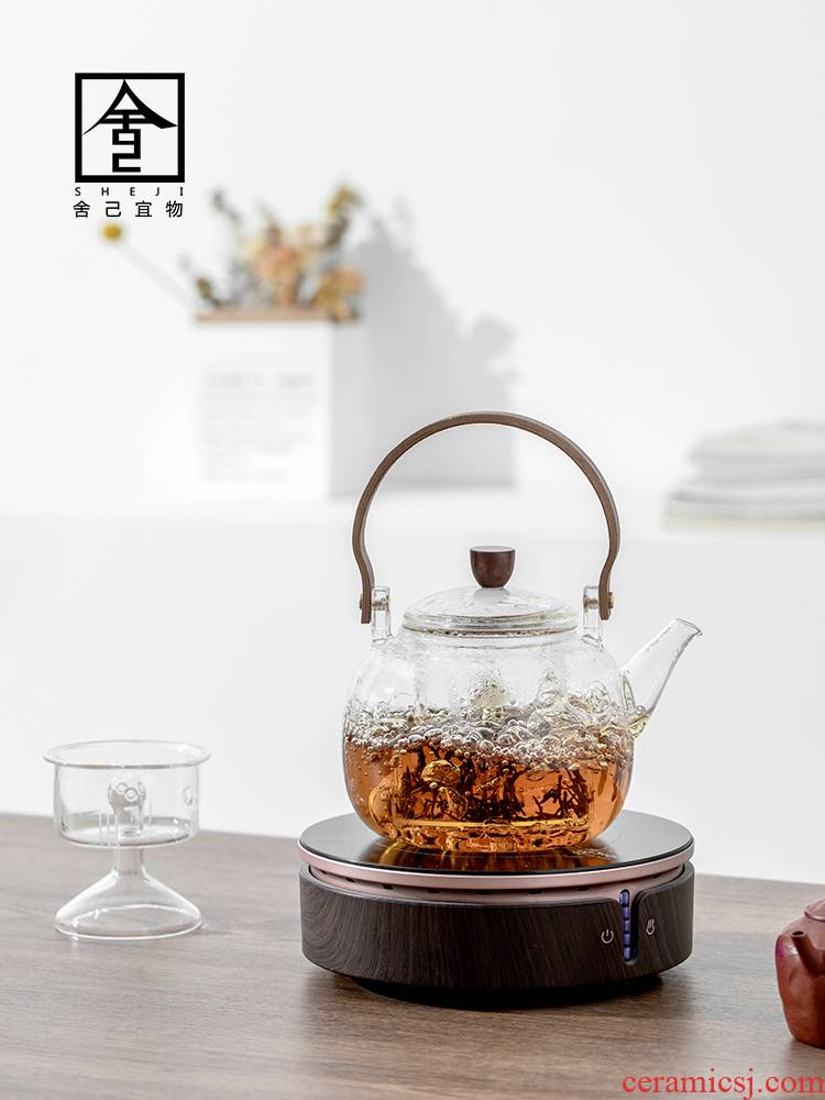 "The Self - ""appropriate content TaoLu glass cooking pot electricity boiling tea tea boiled tea stove with steamed white tea pu - erh tea POTS"