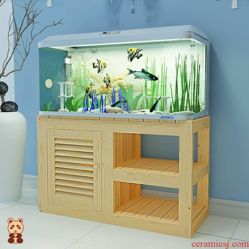 Aquarium tank bottom ark, bearing tank bottom ark, pine grass chassis base cylinder tank