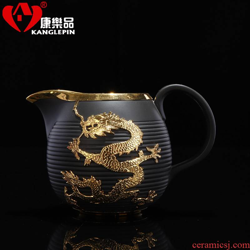 Recreational product an inset jades purple large household dragon antique checking ceramic fair keller points tea tea