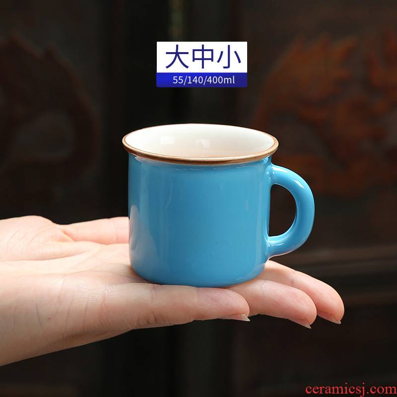 Small cup keller mini medicine ceramic cups mark baby home kindergarten children coffee ultimately responds