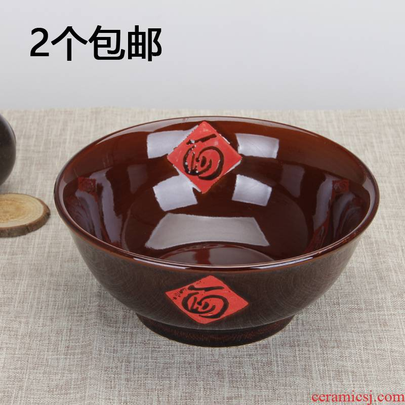 Wine red hotel with characteristic creative ceramic rainbow such as bowl beef rainbow such as bowl ltd. household mercifully rainbow such to use such as always