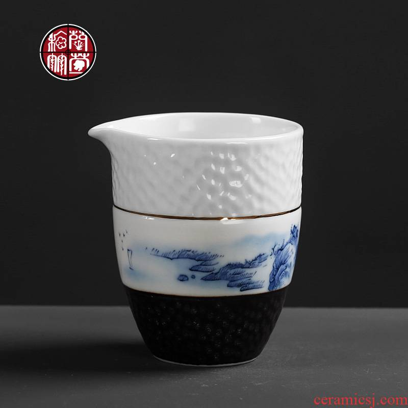 The Was hammer teacup archaize ceramic tea set points to restore ancient ways Japanese household fair cup of tea tea is 5