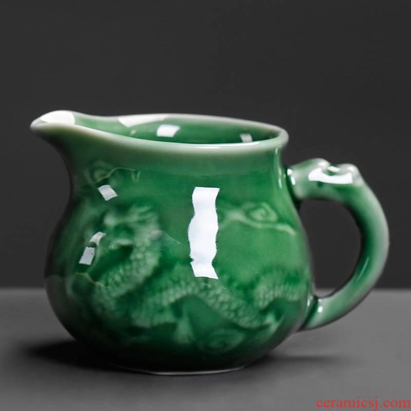 Celadon side the ceramic fair keller ssangyong move nostalgic tea tea and tea ware archaize home tea cup points