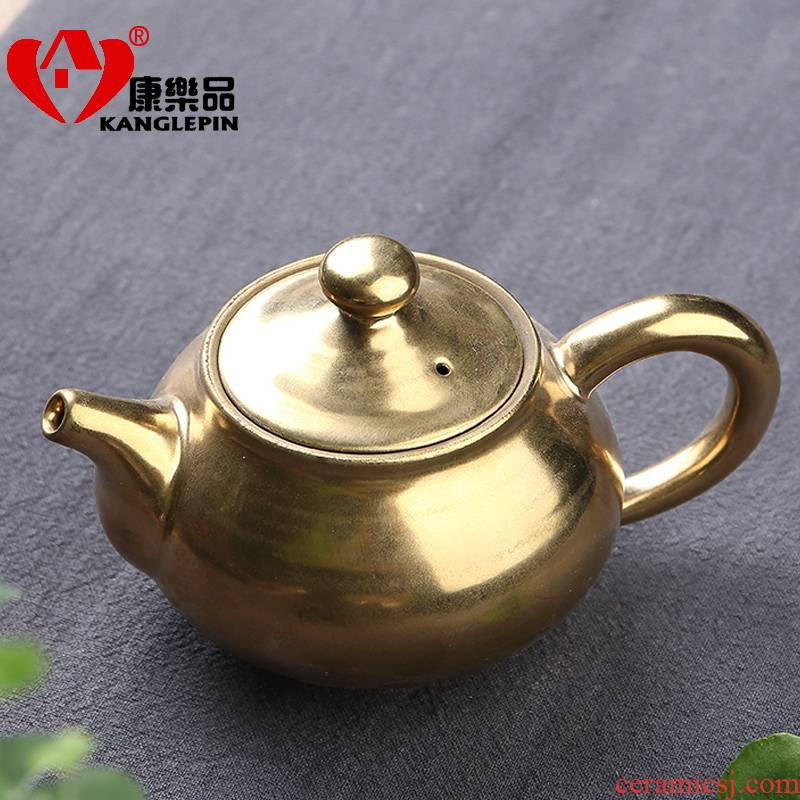 Recreational product teapot up temmoku discus the peacock lamp that tao Japanese kung fu tea kettle large - sized ceramic filter