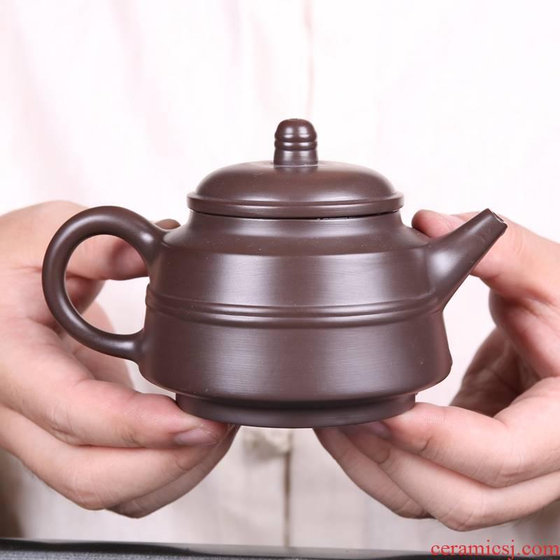 Qiao mu Japanese manual kung fu tea set undressed ore it purple clay make tea tea set tea service