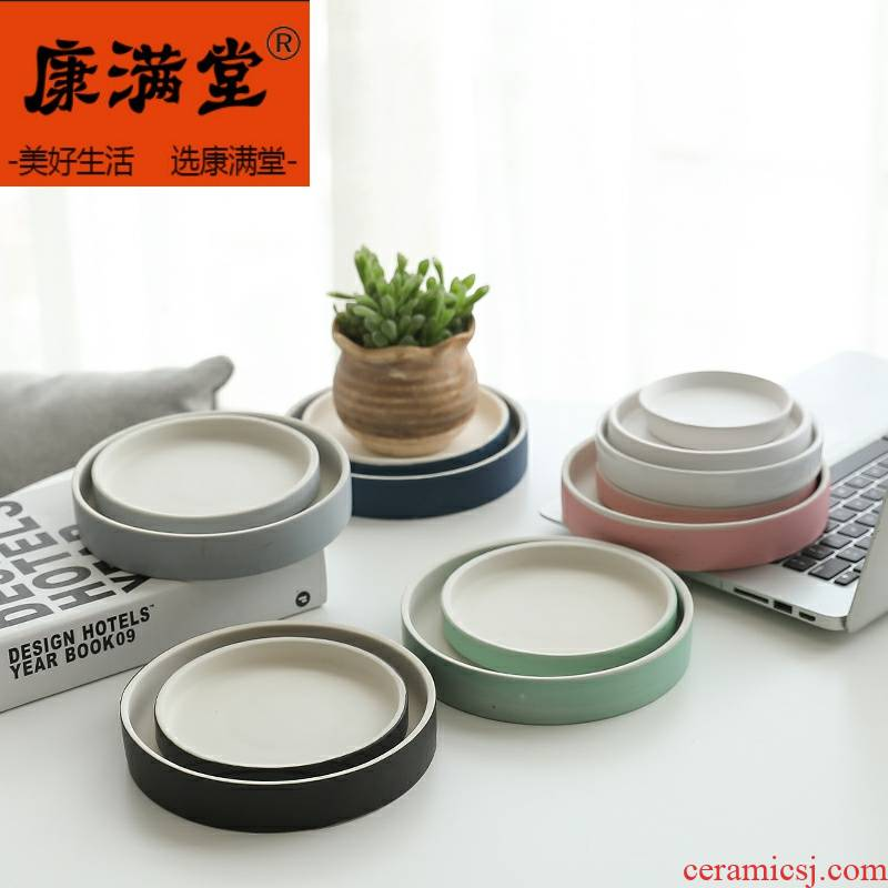 Brazilian wood pallet ceramic lucky bamboo pot doesn large round water pans base meaty plant tray was upset