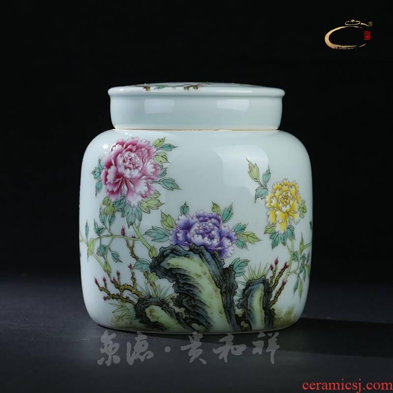 And auspicious jingdezhen ceramic tea pot pastel prosperous one like tea pot hand - made tea POTS
