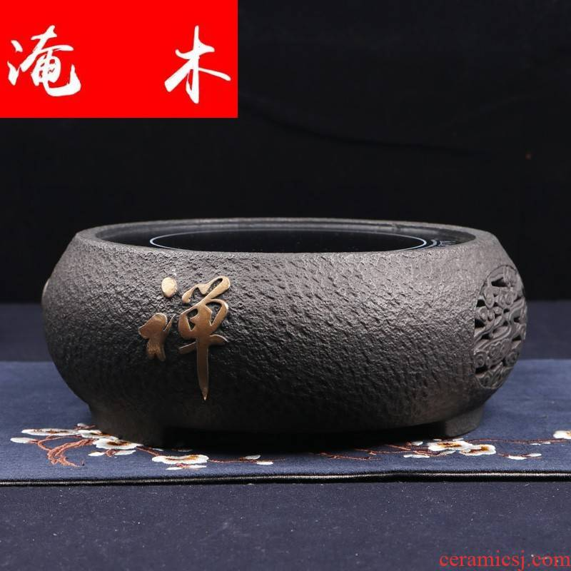 Submerged wood Japan iron brother manual electric TaoLu make tea boiled tea machine electric ceramic teapot tea stove household iron pot