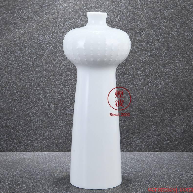 German MEISSEN mason mason pure white embossed series mesa meisen porcelain vase furniture furnishing articles