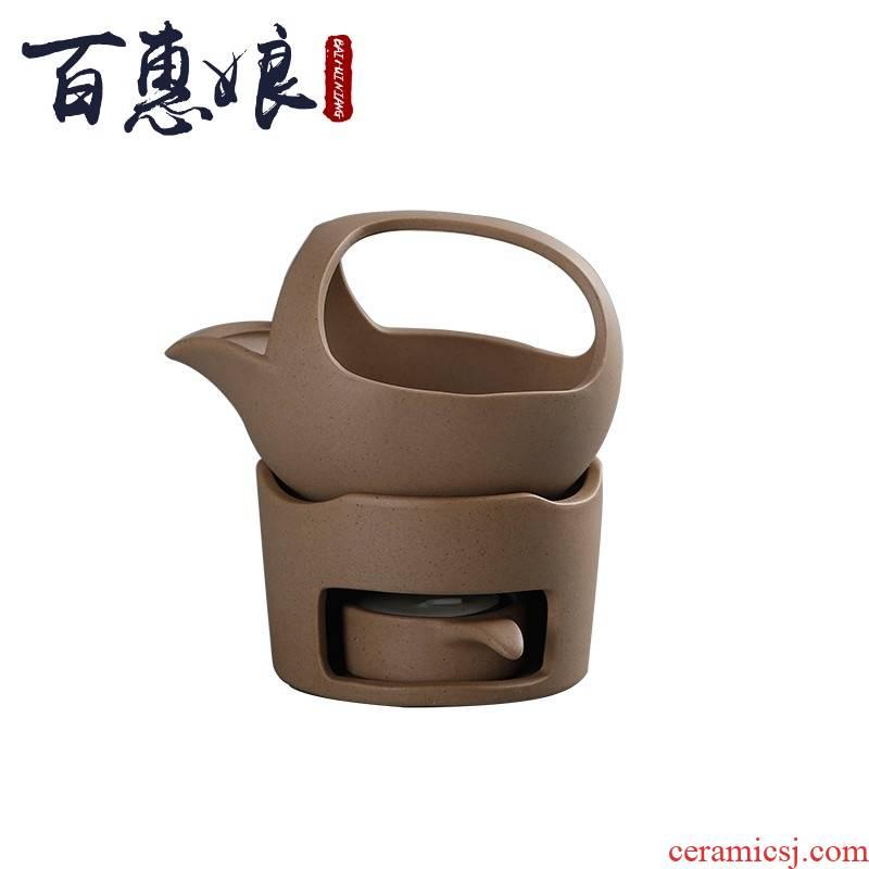 (niang clay baked tea is tea mention censer pu 'er wake tea baking ware kung fu tea tea taking with zero