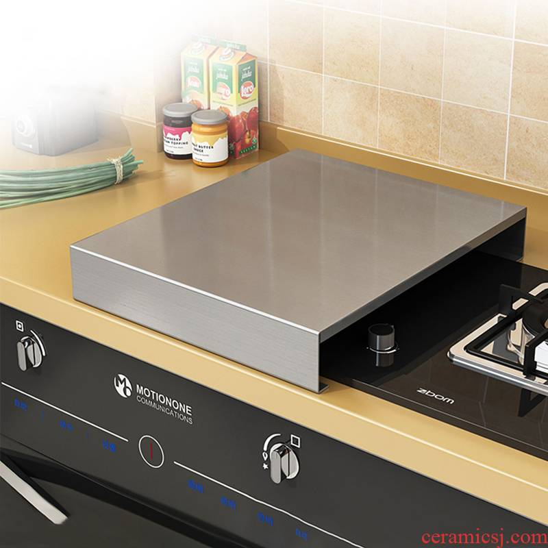 Induction cooker shelf stainless steel kitchen gas gas stove cover household kitchen shelves base plate