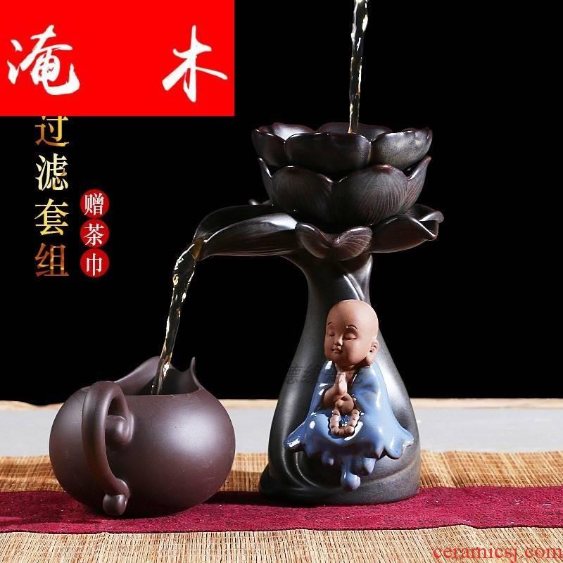 Submerged wood creative tea tea strainer filter violet arenaceous) fair keller kung fu tea tea tea accessories lazy woman