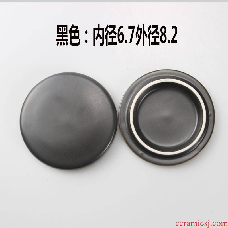 Package mail mark cup lid round general nonporous ceramic lid sheet sells keller cup lid accessories