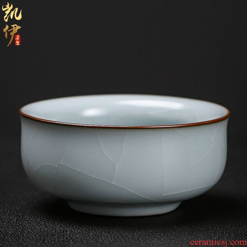 Light to read the manual kung fu tea cups porcelain tea set master single glass ceramic large individual sample tea cup bowl
