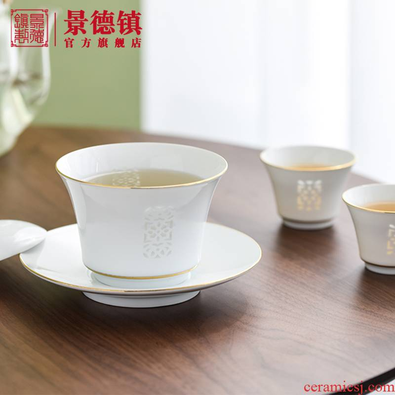 Jingdezhen ceramic tea sets window paint tureen home office is suing the business suit cups gift boxes