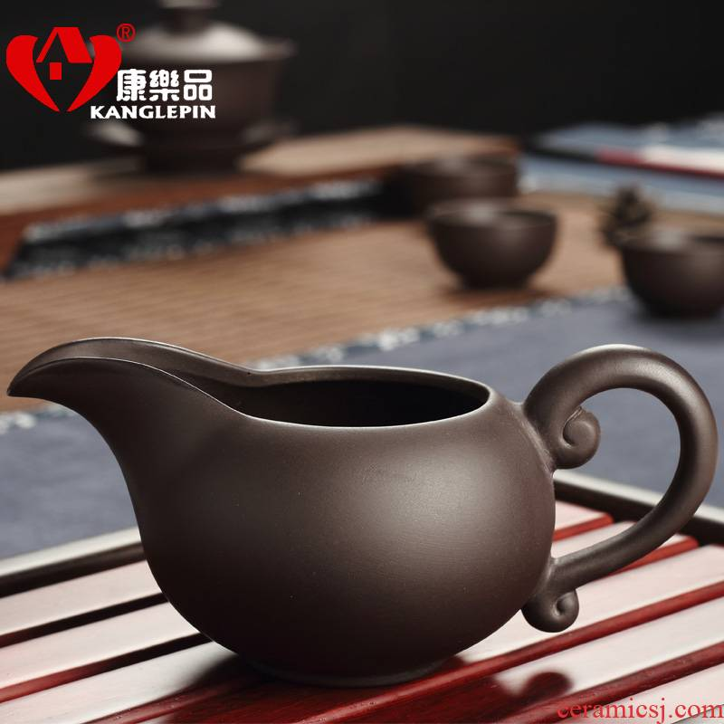 Recreational product yixing undressed ore sea fair purple sand cup points tea device and a cup of water and a cup of tea is the tea taking with zero