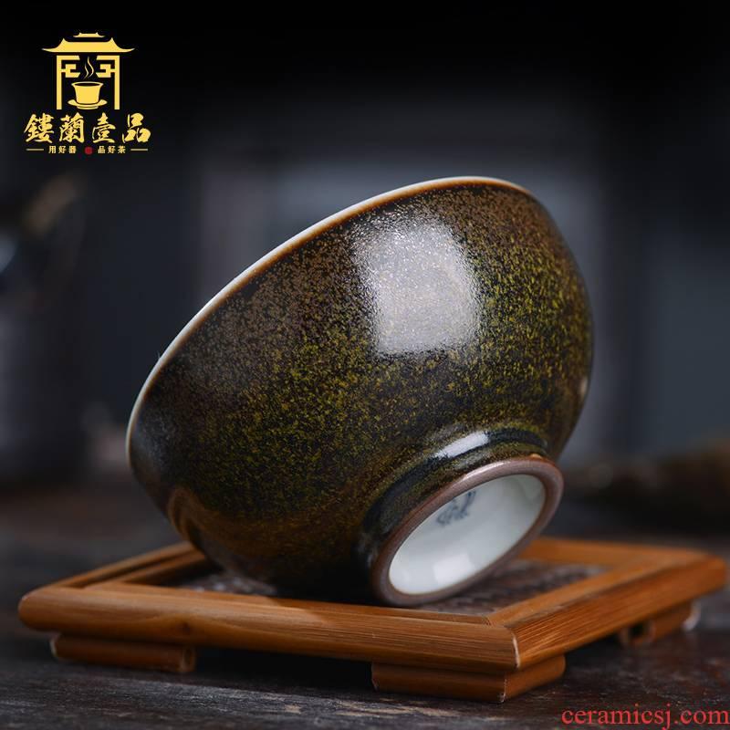 All hand your up jingdezhen ceramics moss terms stars master of kung fu tea tea cup cup tea bowl