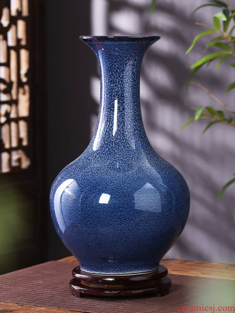 Porcelain of jingdezhen ceramics vase furnishing articles variable blue creative child sitting room flower arranging Chinese style household ornaments