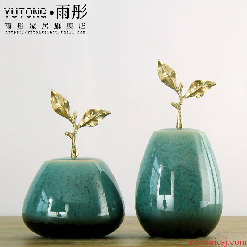 New Chinese style restaurant cabinets ceramic home furnishing articles, the sitting room porch rich ancient frame desktop decoration arts and crafts
