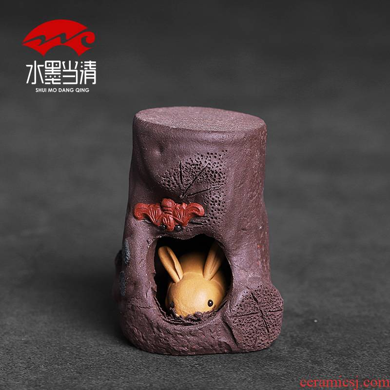 It cover rear hold tea lid doesn creative ceramic checking out small place household kung fu tea accessories