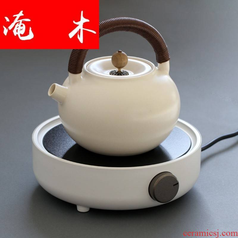 Submerged wood contracted mini glass pot boiling pot of household electric group TaoLu kettle electrothermal furnace