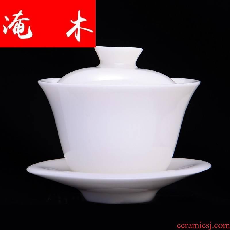 Submerged wood ryohin keikaku white porcelain dehua thrift - is tureen jade porcelain worship to use tea set large cup lettering