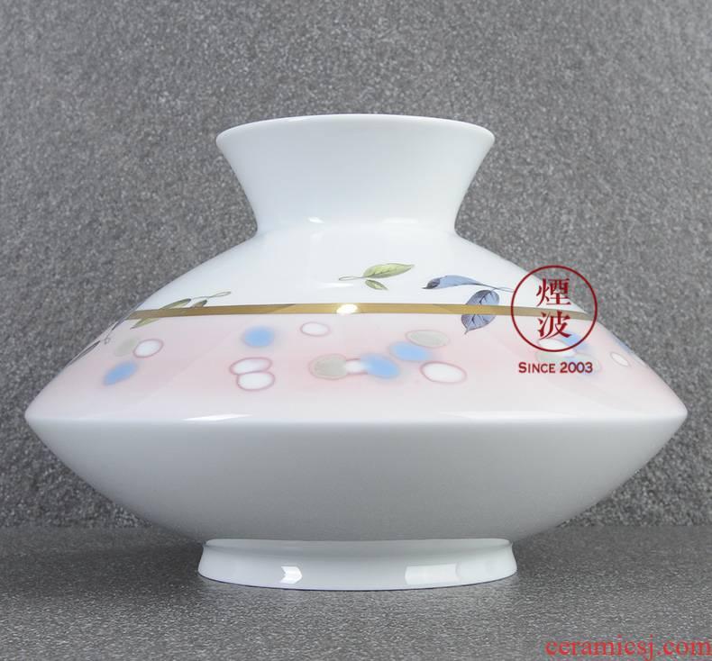 German mason MEISSEN porcelain works limited Blatt - tonisch paint made the vase