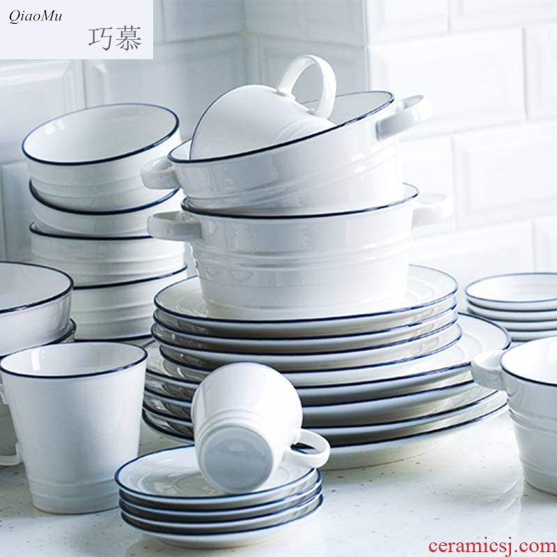 Longed for creative contracted ceramic tableware dishes home opportunely rainbow such as bowl bowl bowl dish dish food dish ceramic plates