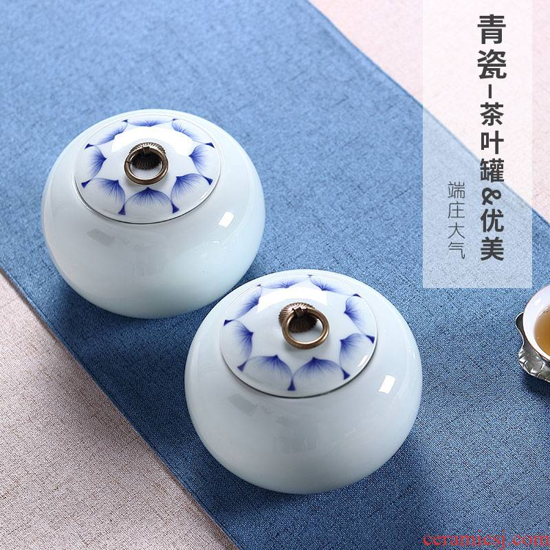 Ceramic tea pot seal pot POTS household saving POTS storage tanks, green tea, black tea pu - erh tea store POTS can be customized