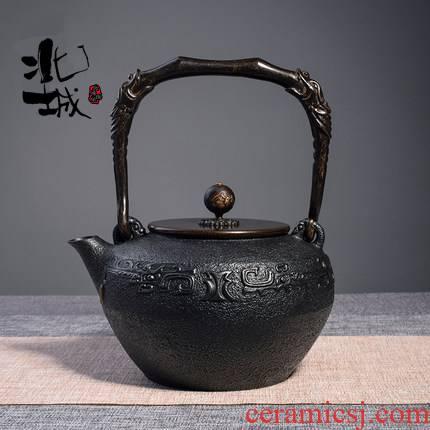 Iron Iron pot of cast Iron tea pot, kettle pot electricity TaoLu teapot household Iron pot of tea, pure manual