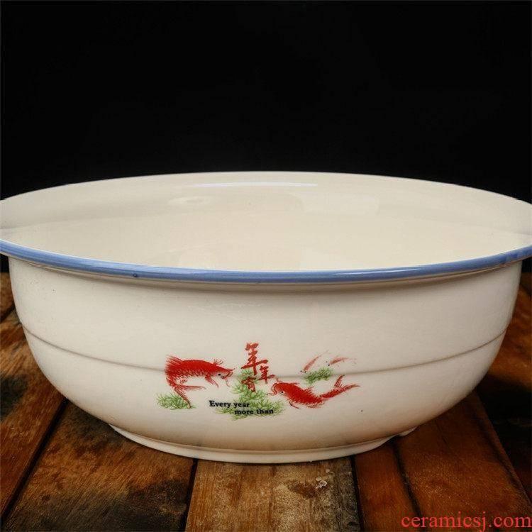 "Save big kitchen ceramic face basin and the basin that wash a face ""basin that wash a face with household porcelain ceramic basin"
