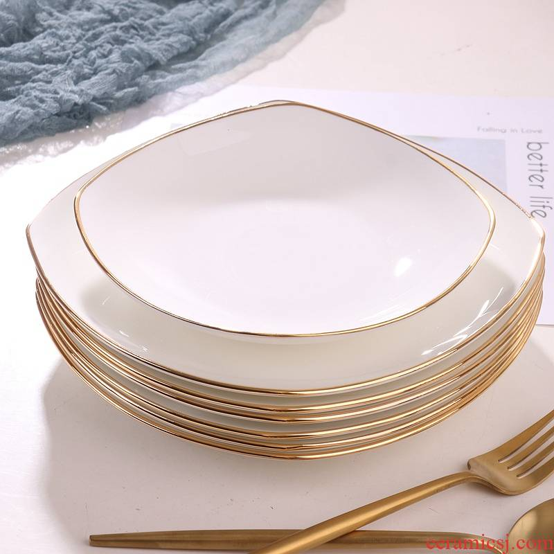 Utsuwa up phnom penh ipads porcelain tableware square deep dish soup plate 0 deep expressions using the home plate plate
