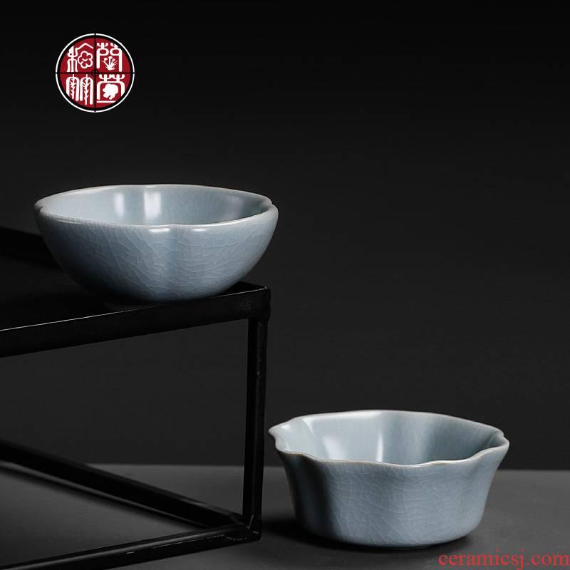 Ru up market metrix who burn kung fu tea cup tea set a single small creative open move fashion ceramic household restoring ancient ways