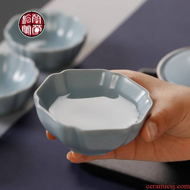 Open the slice your up personal single glass cups porcelain tea set for its ehrs pure manual single kongfu master cup of move