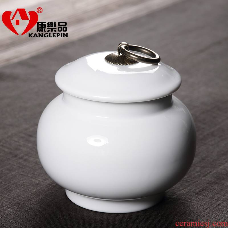 Recreational product seal caddy fixings white porcelain large blue and white pot powder POTS awake medlar tea red and green tea pot
