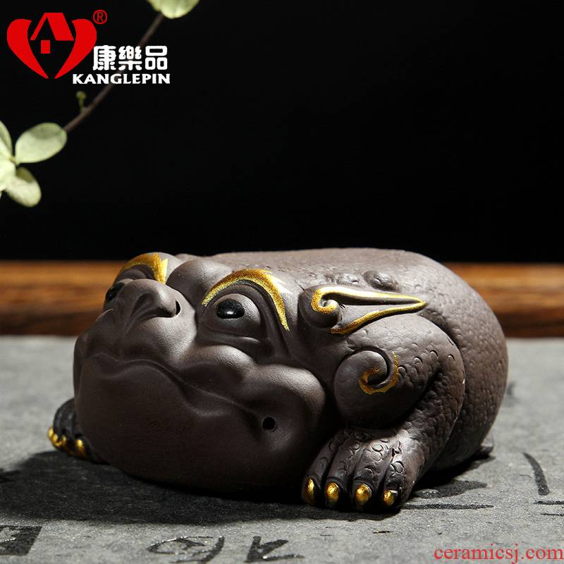 Recreational product small place creative undressed ore yixing purple violet arenaceous spittor spoil kung fu tea tea accessories tea tray was furnishing articles