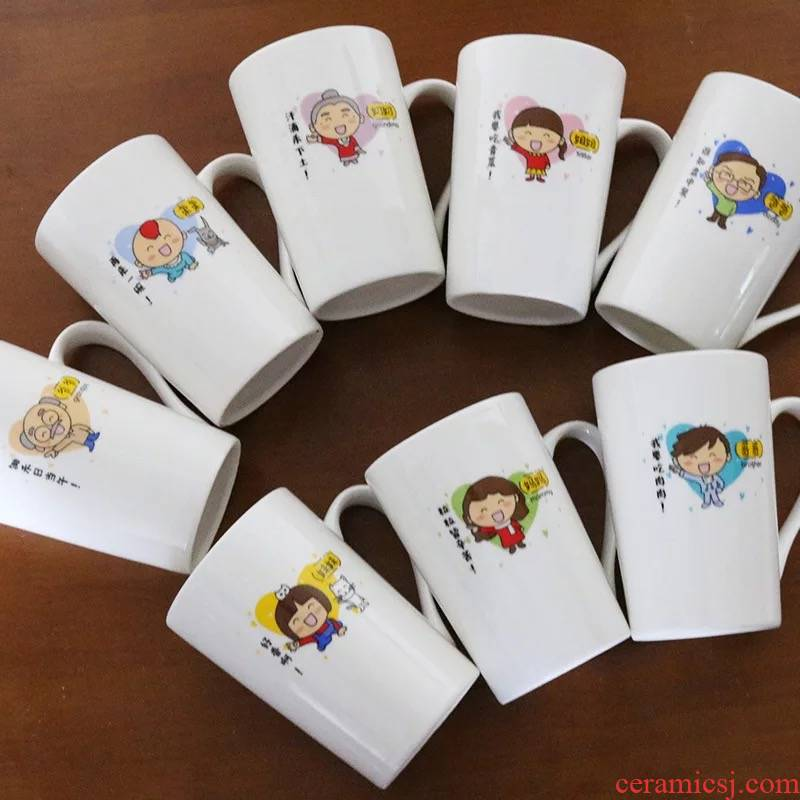 The Parent - child cup three cups of four of five water mugs creative family suits for mugs