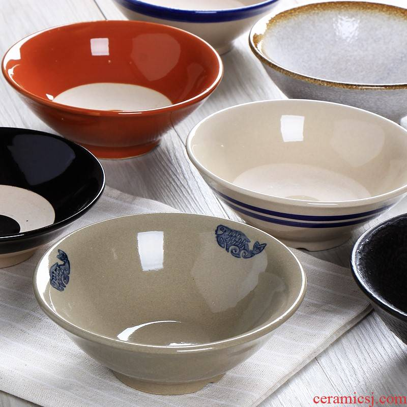 Ceramic high - temperature steaming bowl of household meicai vegetable braised pork dishes old ltd. archaize earthenware bowls hot pot dish bowl of rice bowl