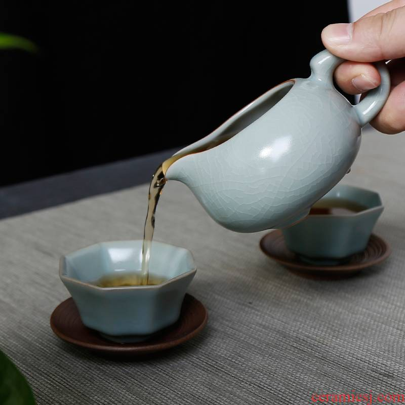 Your up and a cup of household retro points kung fu tea ware ceramics fair keller Japanese tea taking and a cup of tea set spare parts