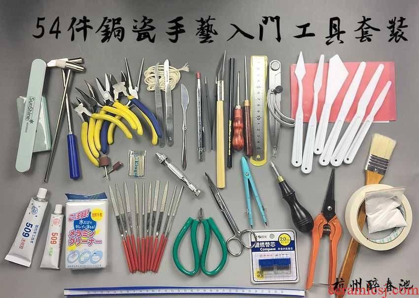 It curium porcelain craft manufacture kit full manual major saw porcelain bag expressions using, nail saw of tin pot inlay