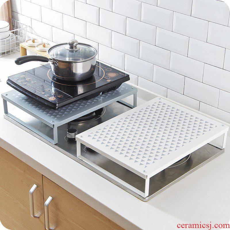 Induction cooker shelf support Taiwan base gas gas buner cover cover the kitchen stove, wrought iron away on the shelf