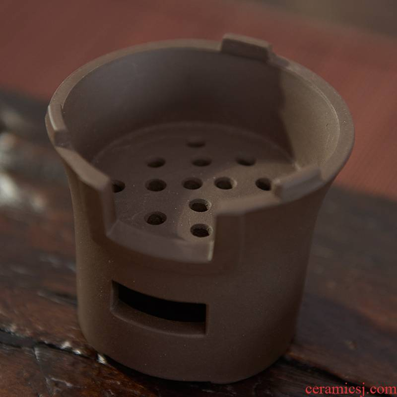 Qiao mu violet arenaceous) ore purple sand tea filter kung fu tea tea strainer screen pack tea accessories