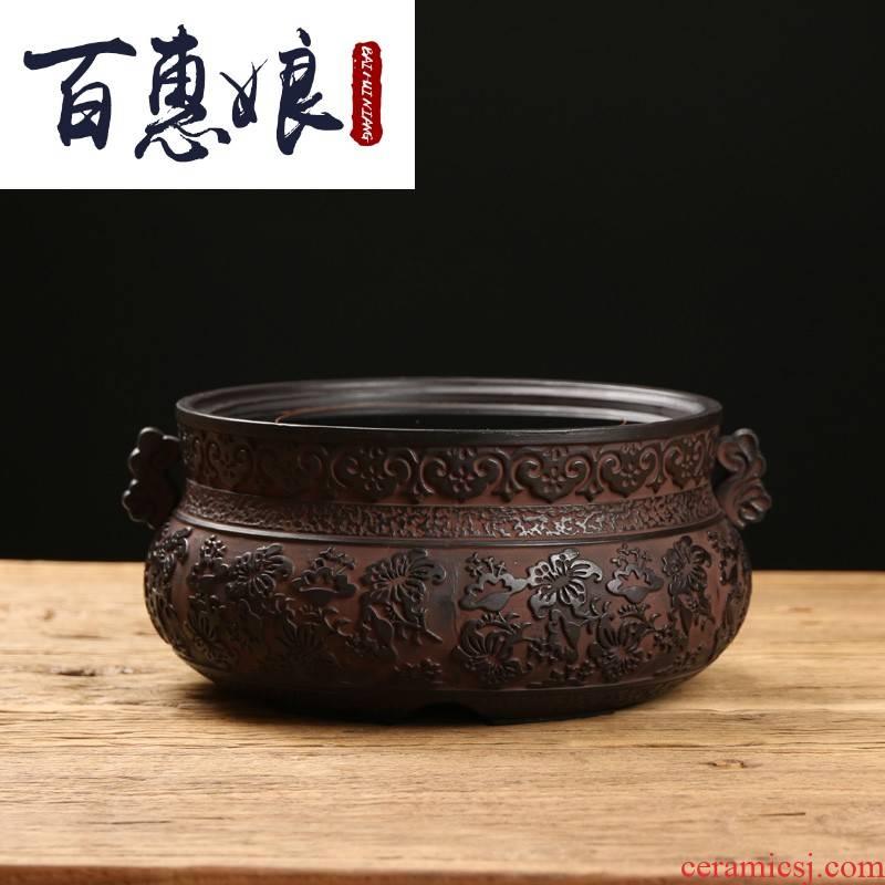 (old niang rock mud iron pot of boiled tea electric TaoLu plates silver pot of tea electrothermal electric ceramic tea stove cooking