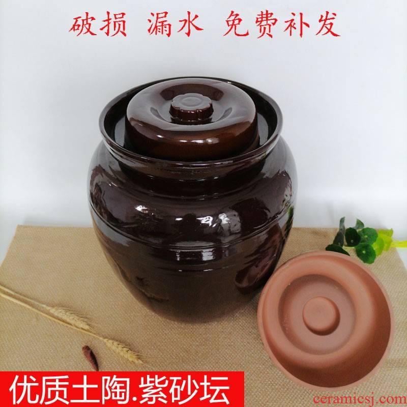 Large ceramic household kimchi pickled dense eggs pickle jar places more salted duck dense eggs FengTan old water storage tank