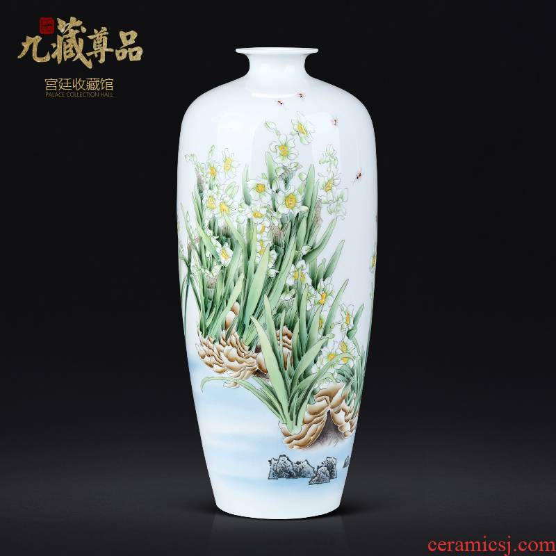 Master Chinese hand - made refers to flower vase jingdezhen ceramics sitting room porch TV ark, flower adornment furnishing articles